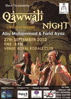 Event: Qawwali Night at Royal Rodale Club, Karachi - Sinde Pakistan