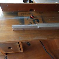 Membuat meja router/trimmer