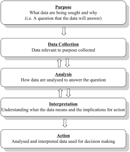 Fig. 2.1 Process of data use