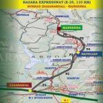 Hazara Motorway/Expressway Route Map