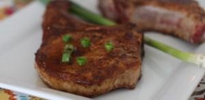 Maple Chili Pork Chops