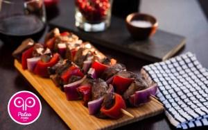 Beef Heart Kabobs