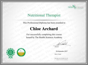 ChloeArchardNutritionalTherapist