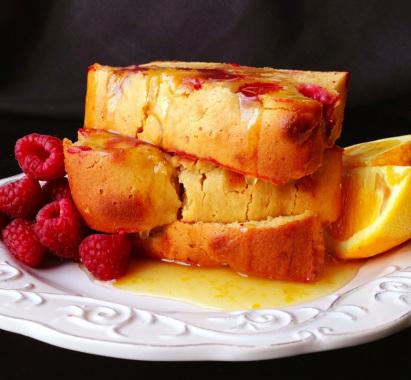 Paleo Hot Orange Coffee Cake