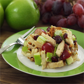 Chicken Apple Cranberry Pecan Salad