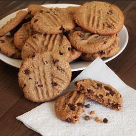 """Peanut Butter"" Chocolate Chip Cookies Recipe"