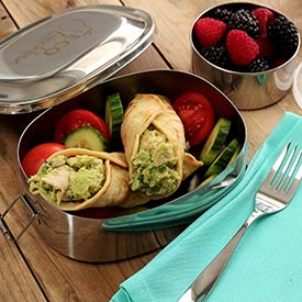 Paleo Tuna Avocado Tortilla Wraps Recipe