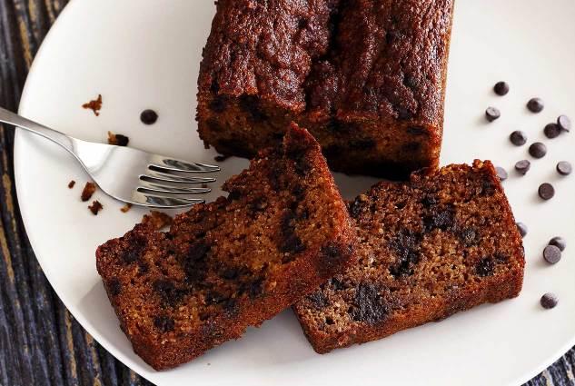 paleonewbie.com pumpkin bread recipe - plate photo