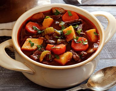 Veggie and Beef Paleo Soup Recipe