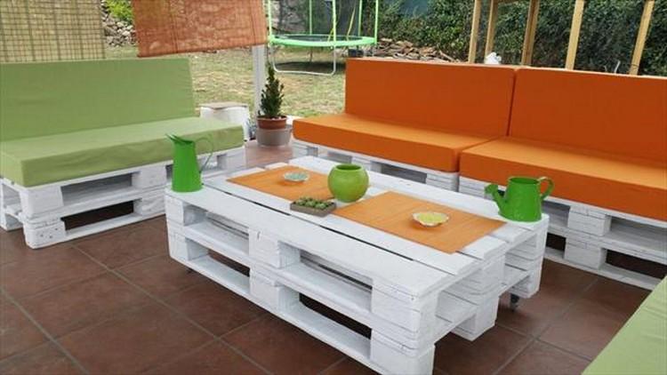 Wood Pallet Patio Furniture Wooden Outdoor T