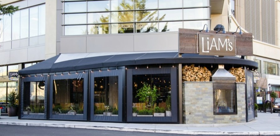 Winterize your porch or restaurant with Clear Vinyl Curtains installed by Palmetto Outdoor Spaces.