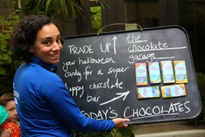 The Chocolate Garage in downtown Palo Alto supports growers and offers delicious and unique chocolates