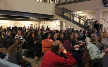 The DreamCatchers Open House drew a sell out crowd at the Paly Media Arts Center on March 5th