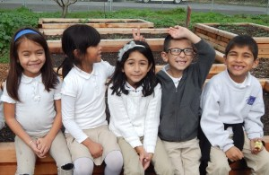 Students from East Palo Alto Charter School (EPACS) enjoy the outdoors