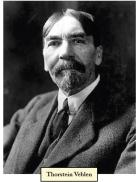 Thorstein Veblen, Stanford economist and key reference point