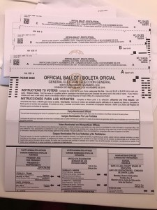 Does my ballot really have three full pages? Woah.