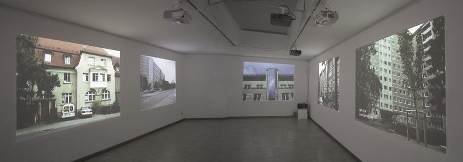 Konspirative Wohnungen// Conspiracy Dwellings, Kunsthaus Erfurt, Pam Skelton.  Photo Falko Behr, 2007.