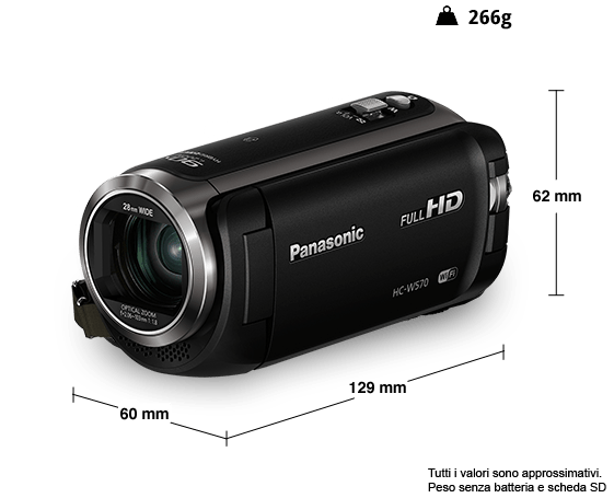 Videocamera HD HC-W570
