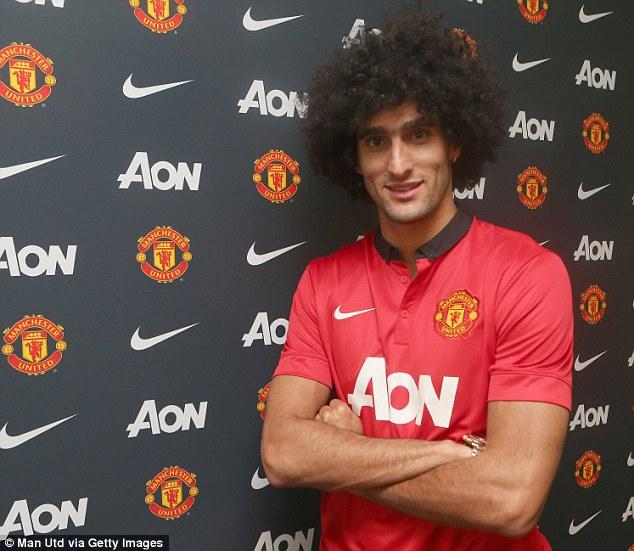 Die Rode Duivel van Manchester United met zijn gekke kapsel