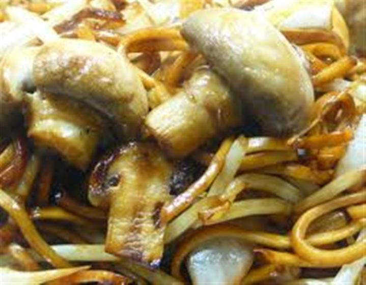 Chow Mien With Mushroom Recipe