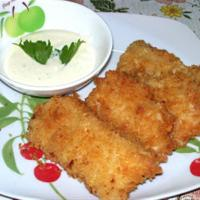 FISH FILLET WITH 3 KINDS OF DIPS Recipe