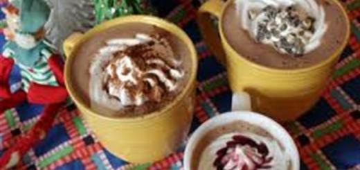 Hot White Chocolate With Cinnamon Recipe