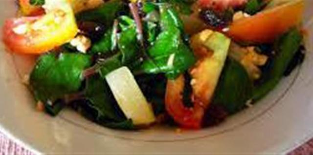 Alugbati Salad Recipe