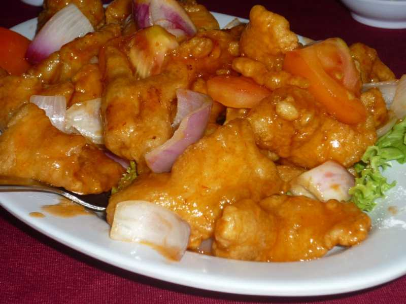 Fish fillet with sweet and sour sauce recipe panlasang for Sweet and sour fish recipe