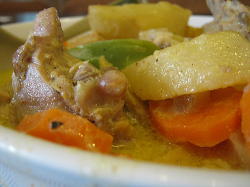 Filipino Style Chicken Curry Recipe