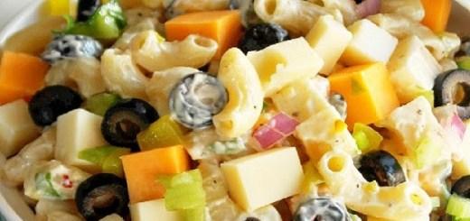 Cheesy Picnic Pasta Salad