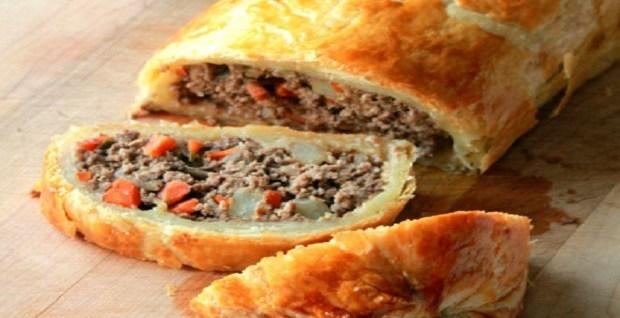 Minced Beef Wellington Recipe