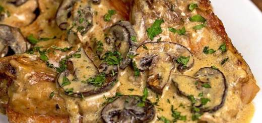 Pork Chops Stroganoff Recipe