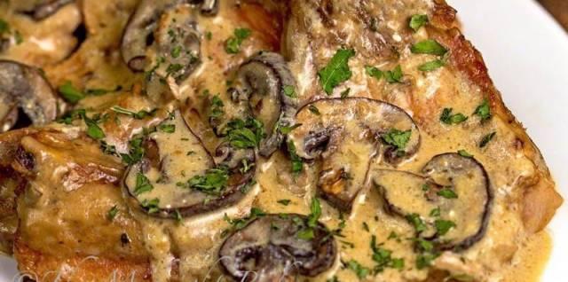 Pork Chops Stroganoff Recipe