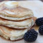 maple flax pancakes
