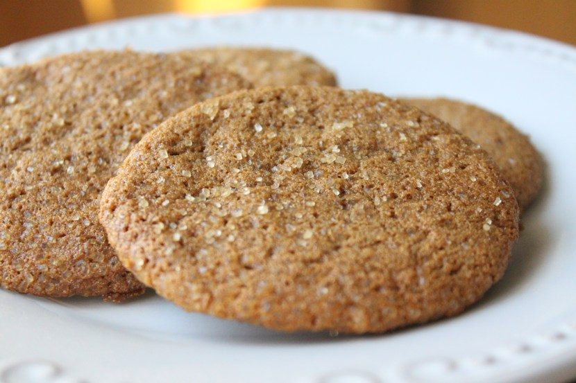 gf chewy ginger cookies