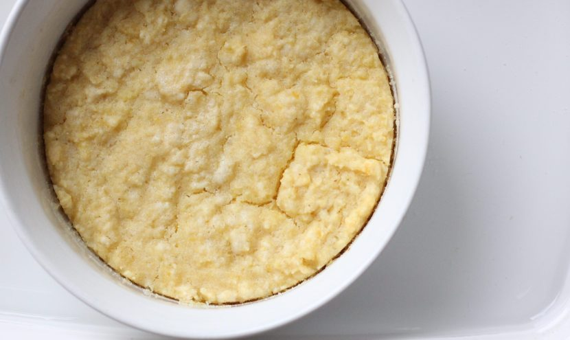 baked corn pudding, pantry lane