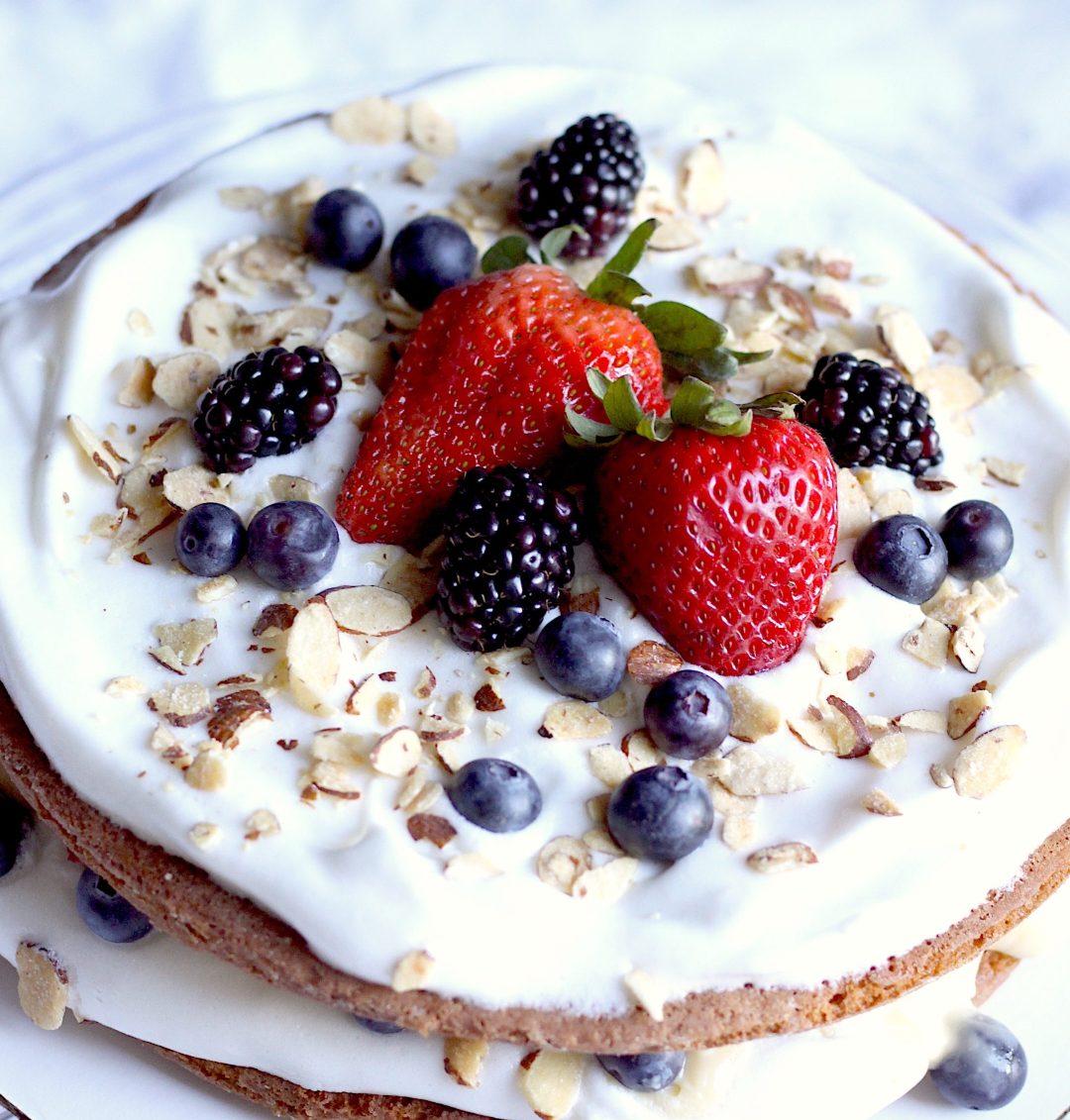 summer berry torte