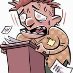 L'ansia prima di un esame