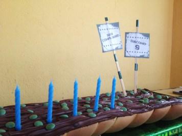 organizzazione di paola maresca per festa compleanno sportivo bootcamp nel parco della cascina con allenamento, merenda e torta