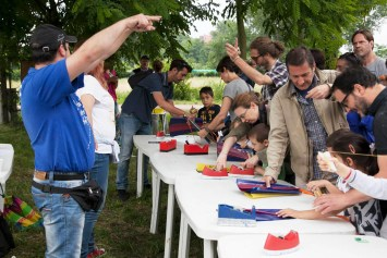Paola Maresca organizzazione evento con Aquiloni - laboratori, attività e intrattenimenti per bambini di tutte le età