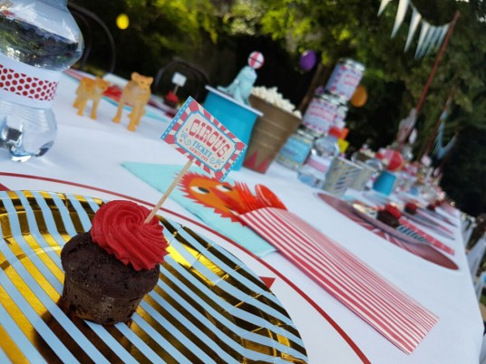 circus Wedding - Paola Maresca - Kids table