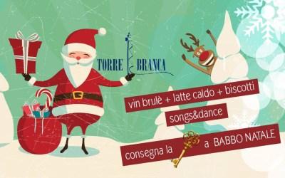 24 Dicembre / Babbo Natale @ Torre Branca !!