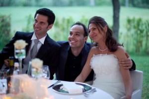 Foto Paolo Cicognani con Sposi