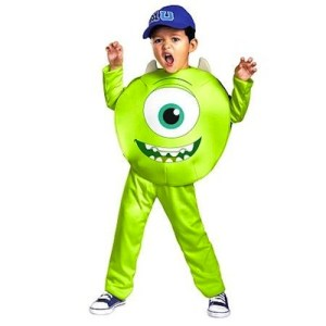 disfraz niño monstruos university mike wazowski