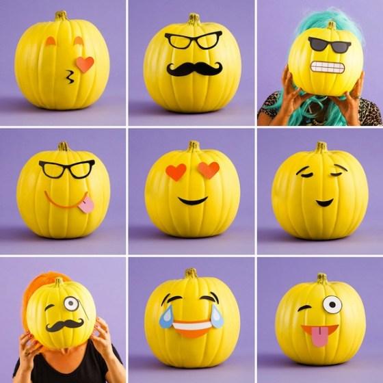 Halloween ni os for Decoracion de calabazas para halloween