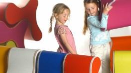 Divertidas sillas infantiles para decorar y jugar
