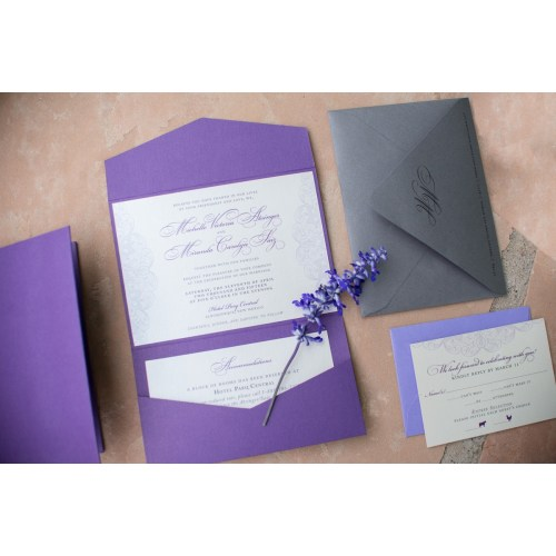 Medium Crop Of Lace Wedding Invitations