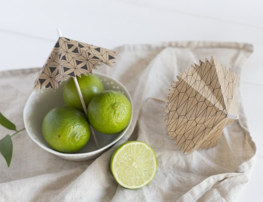 DIY ombrelle à cocktail - www.paperboat.fr