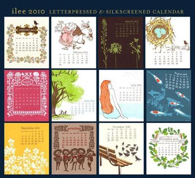 Ilee 2010 Calendar