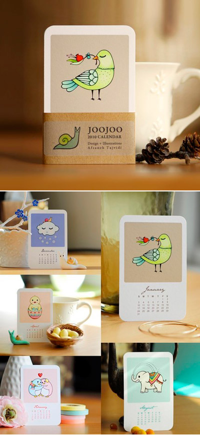 JooJoo 2010 Calendar